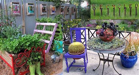 juegos de decorar jardines ideas para decorar el jard 237 n con muebles viejos