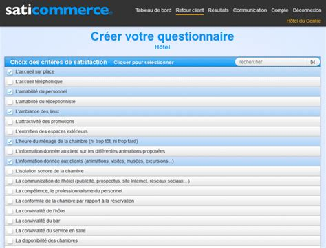modele questionnaire de satisfaction client gratuit document