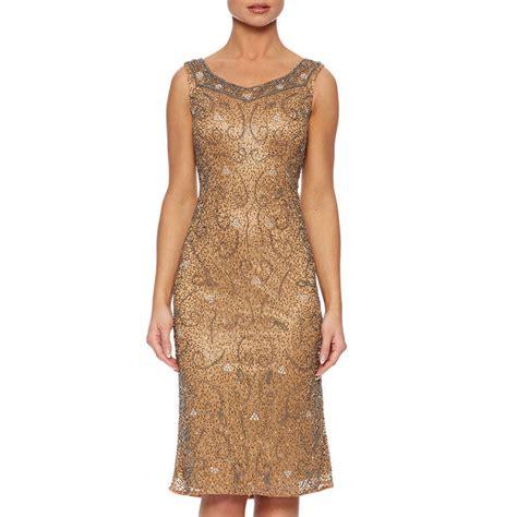 beaded shift dress beaded sweet neckline shift dress by raishma