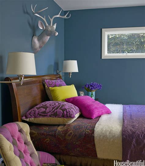 paint colors for bedroom walls colorful bedrooms 30 color ideas that ll punch up any space