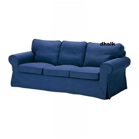 ikea slipcovers fit other sofas ikea ektorp 3 seat sofa cover slipcover idemo blue bezug