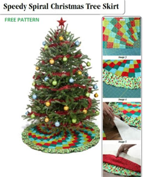 tree skirt pattern sew craftdrawer crafts learn how to sew a spiral