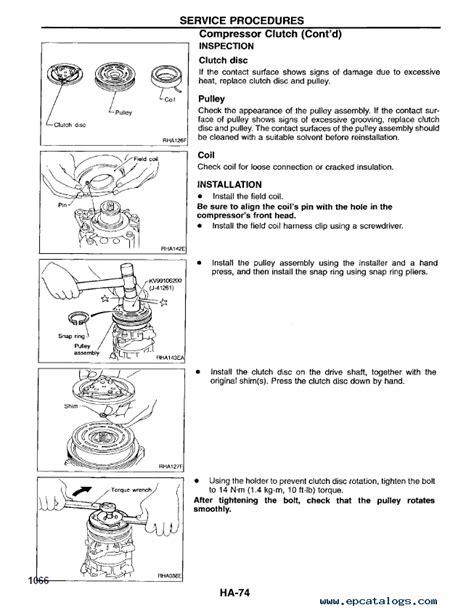 nissan 240sx model s14 series service manual pdf