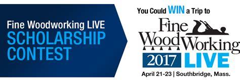 woodworking scholarships scholarship contest
