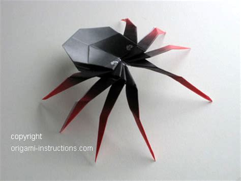 how to make origami spider animals origami 3d spider origami paper origami guide