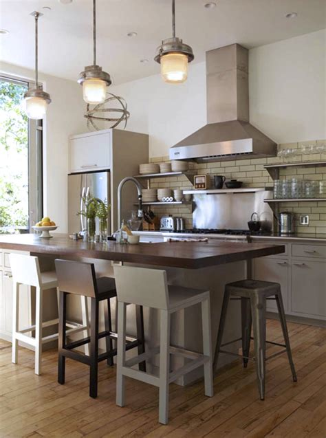 industrial kitchen island in the kitchen commercial vs conventional coco kelley coco kelley