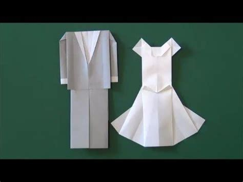how to make origami wedding dress marriage ceremony quot wedding dress quot origami diy