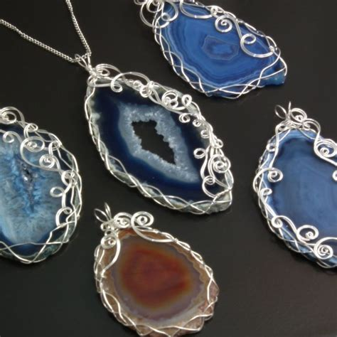 how to make wire wrap jewelry 1000 images about gemstone jewelry on
