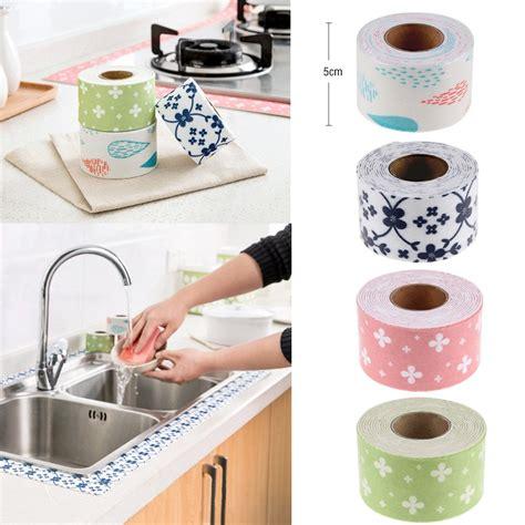 kitchen sink caulk seal bath and wall sealing 2 5m sink basin edge trim