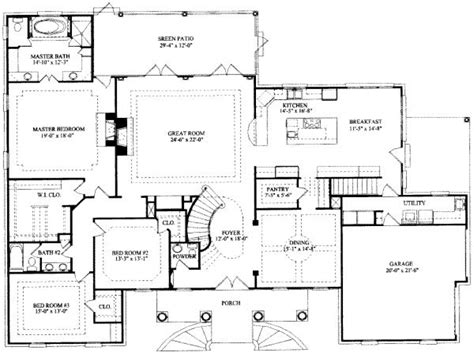 house plans with large bedrooms 8 bedroom ranch house plans 7 bedroom house floor plans 7 bedroom floor plans mexzhouse