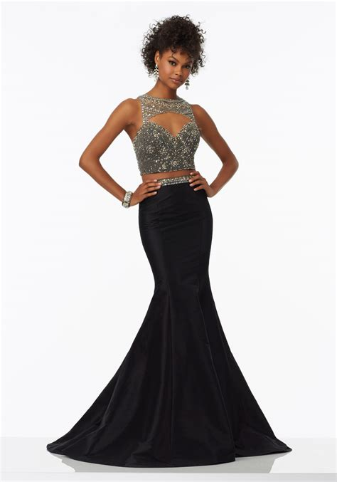 fully beaded prom dresses two prom dress with fully beaded bodice style