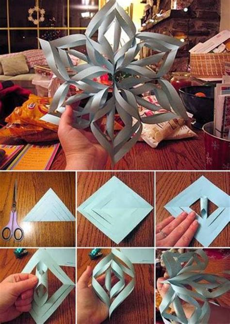 3d snowflakes paper craft easy to make 3d snowflake using paper find