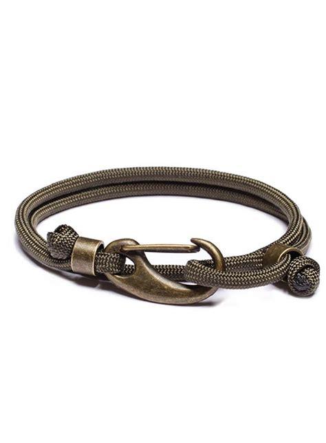 paracord bracelet with quot commander quot paracord bracelet with brass clasp we are