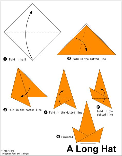 how to make an origami hat hat easy origami for