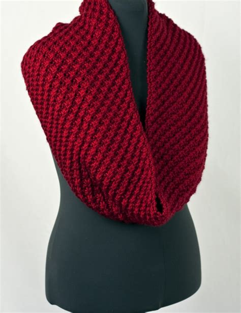 free knitting pattern for snood scarf knitted pacific chunky cowl free pattern