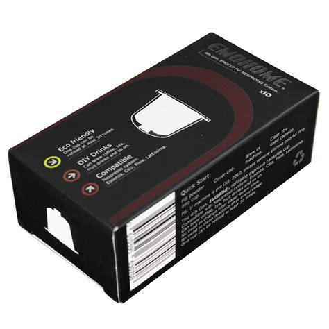 EMOHOME EM 04T use 300 times more Espresso refillable Coffee Capsule pod reusable compatible