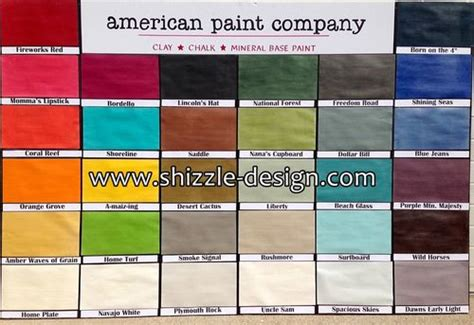 chalk paint american american paint company s chalk clay paints vintiquities