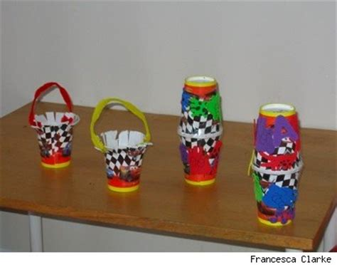 paper cup craft how to