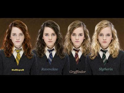 hermione granger house hermione granger in each house by katgopur on deviantart