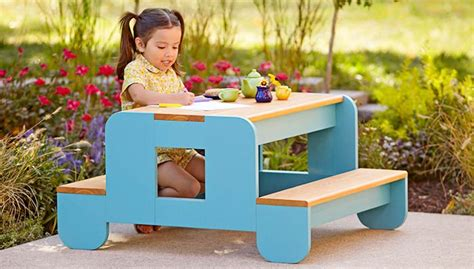 lowes kid craft picnic table