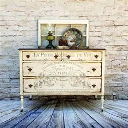 chalk paint finishes stunning dresser stenciling bone white chalk style