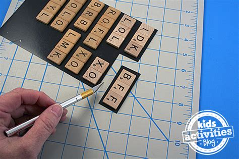 Scrabble Tile Craft Acronym Magnets