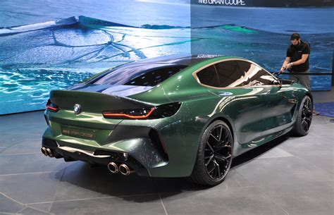 M8 Gran Coupe by The Bmw Concept M8 Gran Coupe Forecasts A New M Flagship