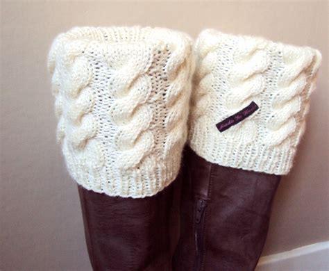knitted boot cuffs knitted boot cuffs loom knitting