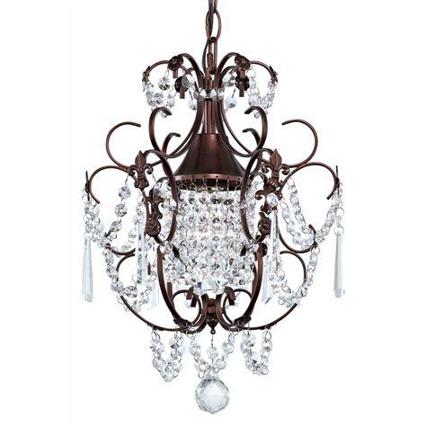 pendants for chandeliers mini chandelier pendant light in bronze finish