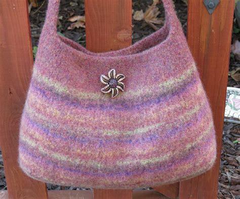 felted purse knitting patterns felted purse pattern knit bag pattern by deboraholearypattern