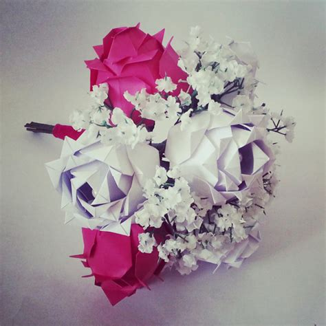 origami anniversary paper anniversary gift origami bouquet roses baby s