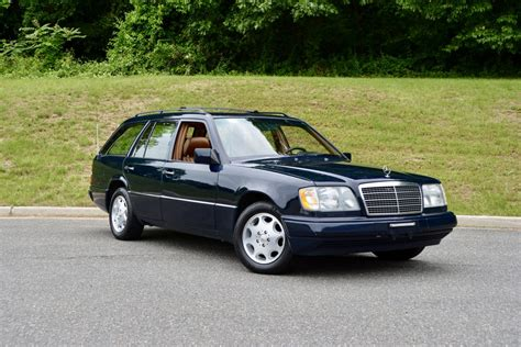 1995 Mercedes E320 by 1995 Mercedes E320 Wagon In Midnight Blue With