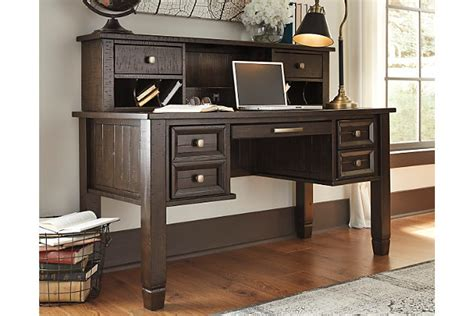 townser home office desk with hutch furniture
