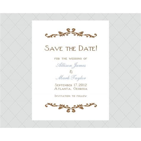 how to make a save the date card flourish save the date cards style 458 whimsicalprints