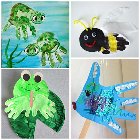 crafts for summer summer handprint crafts for to make crafty morning