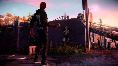 spray painter ps4 spray painting assistance infamous second ps4