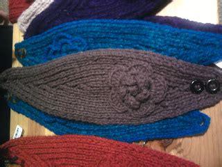 m1f knitting katiedid crafts knit flower headband