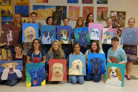 painting with a twist paint your pet 2016 paint your pet tasty touring