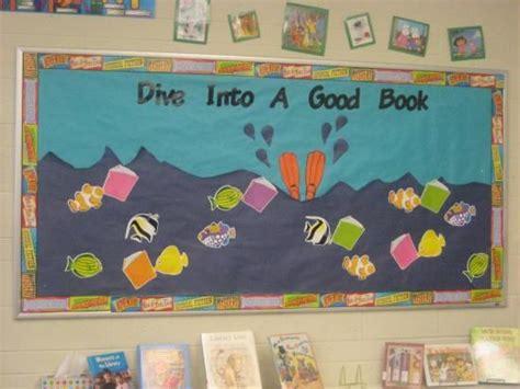 pictures into books dive into a book bulletin board ideas