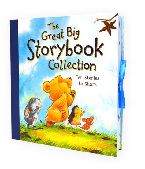 story book with pictures the great big storybook collection ten stories to