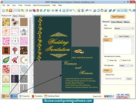 software for cards and invitations wedding card designing software design and print marriage
