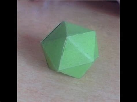 origami dice how to make 20 sided dice origami