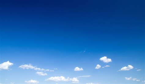 sky blue blue sky photo