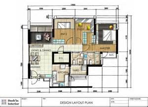 dash in interior designs floor plan layout