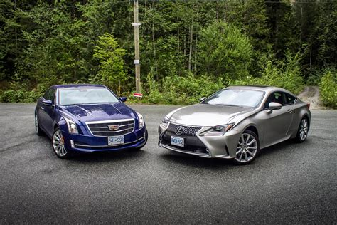 Cadillac Vs Lexus by 2015 Cadillac Ats Vs Lexus Rc 350 Autos Ca