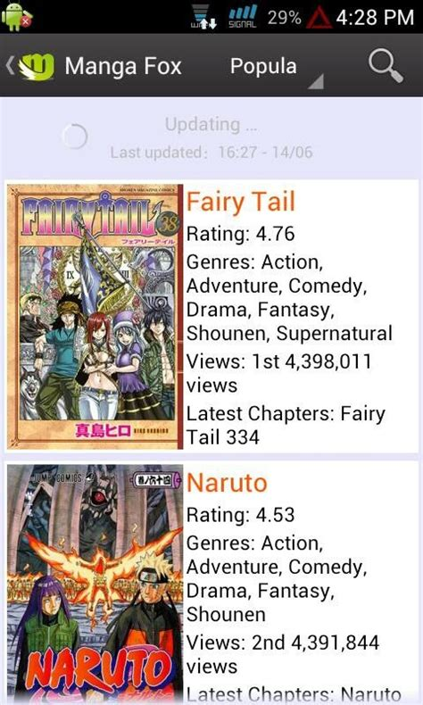 read mangafox free mangafox read apk for android