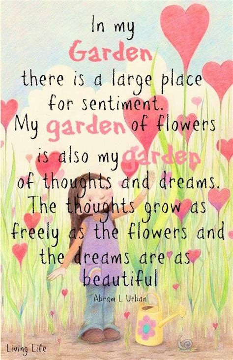 quotes on gardens and flowers inspirational garden quotes quotesgram