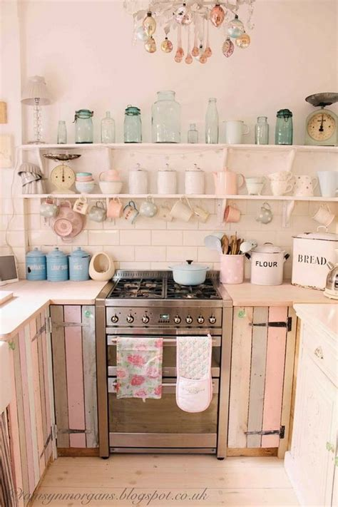 country chic kitchen ideas 50 sweet shabby chic kitchen ideas 2017