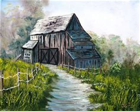 bob ross painting barns louise marion is an artist from qu 233 bec canada who