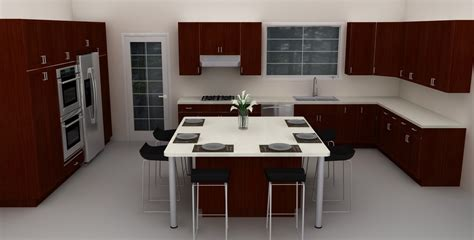 kitchen design square room ikea dining area island in kitchen